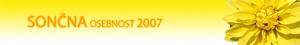 Sončna osebnost leta 2007