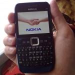 Nokia E63 - so kar zadeli barvo dlani, ne?
